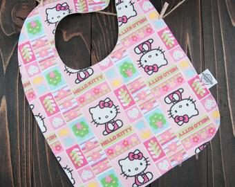 Hello Kitty Baby Bib - Baby Girl Bib