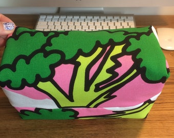 Broccoli Box Makeup Bag