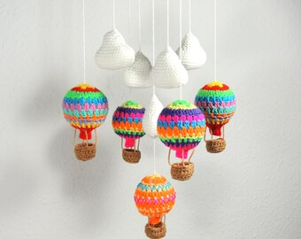 Hot Air Balloon Mobile Baby Mobile Baby Shower