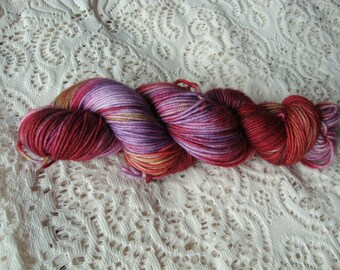 "Hand Dyed Yarn Merino Cashmere Nylon DK ""Sierra"""