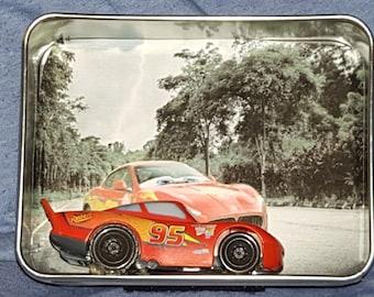 Lightning McQueen Mini Shadow Box