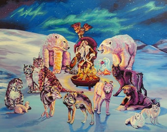 The Court of the Ice Queen Giclee Print