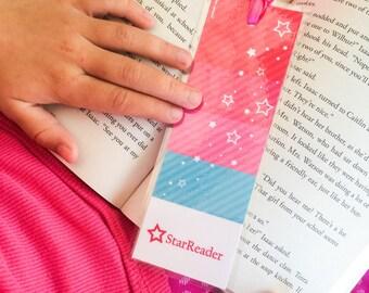 America's Girl. Bookmark. DIGITAL DOWNLOAD. DiY Printable Design. Pinkadot Shop