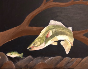 Walleye and Perch