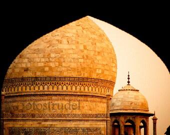 India Photograph. Taj Mahal, Agra, India 8x12