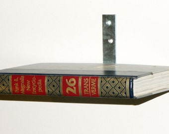 Floating Book Shelf - Vintage Books - Floating Encyclopedia Shelf