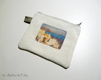 Travel pouch purse theme
