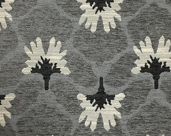 Upholstery Fabric - Chelsea - Zinc - Heavy Chenille Home Decor Upholstery & Throw Pillow Fabric by the Yard - Available in 8 Colors