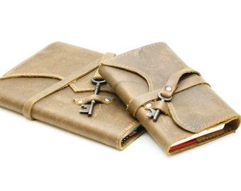 Leather Journal Travel Journal Refillable Journal Refillable Leather Notebook Personalized Notebook Custom Journal Gift for Traveler Diary