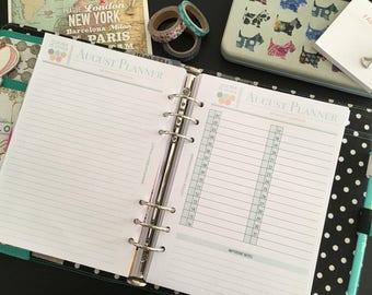 2017/2018 Printable Teacher Lesson Planner - Teacher Planner - Lesson Plan Book - Lesson Planning - Teacher Plan Book - INSTANT DOWNLOAD