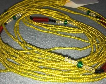 African Waist Beads - Style: Yaya. 1 strand @ 2.99