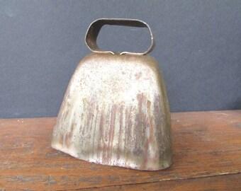 Copper Cow Bell Vintage Metal Bell