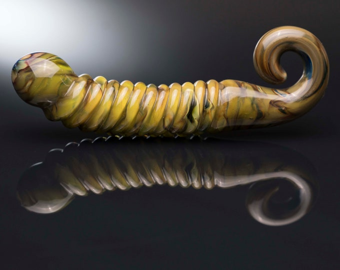 Glass Dildo - Xenomorph - Alien Green