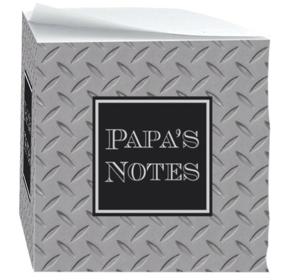 Gifts for Father Grandpa For Grandfather Note Cubes with Sticky Adhesive 700 Sheets Personalized For Dad Desk Accessories Note Pad
