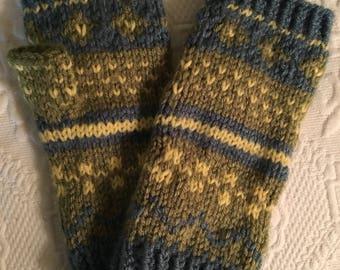 Hand Knit Fingerless Glovez