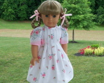 """PDF SEWING PATTERN for 18 Inch Doll Clothes  / Butterfly Kisses / Vintage Style Pattern Fits American Girl®  or Other 18"""" Dolls"""