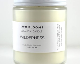 Cedarwood Mint Natural Soy Wax Candle, Home Decor, Candle Victoria BC Vancouver Island Canada