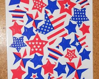 Sandylion Maxi Sheet Patriotic Starts