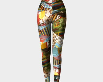 LEGGINGS / Tights / Colourful / Bright / Yoga Pants / Gymwear / Activewear / Yoga / Patterned Leggings / Patterned Tights / Luxe leggings
