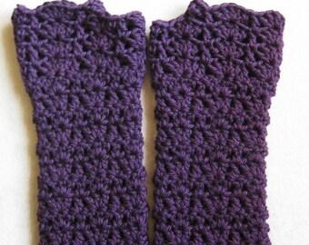 Fingerless Glove Crochet Pattern - Kait's Shells Fingerless Gloves