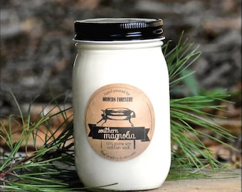 Magnolia Candle, Made South, Souther Candle, Wholesale Candle, Charleston Candle, Magnolia Gift, Greenville Candle, Custom candle