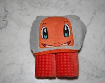 Charmander Hooded Towel