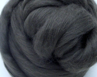 4 oz. Merino Wool Top - River Rock
