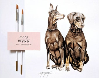 Custom Pet Painting (8x10in)