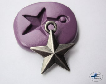 Star Mold - Silicone Mold - Polymer Clay Resin Fondant Soap Wax Candy