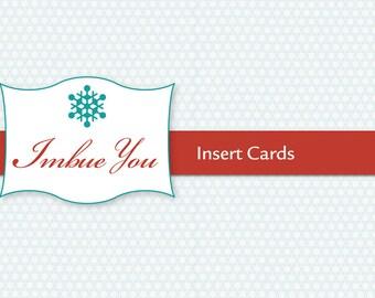 Insert Cards - Add On