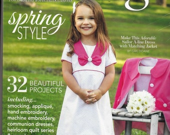 Brand New~CLASSIC SEWING MAGAZINE~Spring 2018  Includes Sewing Pattern Sealed Free Shipping
