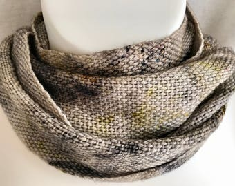 """Handwoven Hand Dyed Scarf 