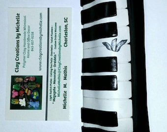 Piano Mezuzah Case