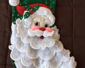 "A handmade 18"" Christmas Stocking"