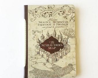 Marauders Map - Harry Potter iPad case, Book iPad, iPad mini, iPad Air, iPad Pro case