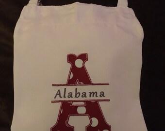 Alabama Apron, Collegiate Apron