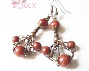 earrings tutorial - wire wrapped tutorial, jewelry tutorial by Kica Bijoux - tutorial IV