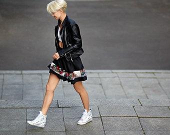 The Skater Style Skirt , mini, short, circle skirt