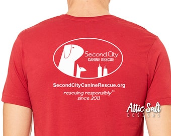Add SCCR logo to the back of any shirt!