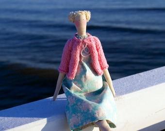 Tilda Angel Doll Princess  Handicrafts Needlecraft Knitting Spring