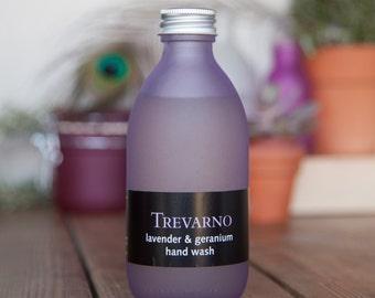 Organic Trevarno Lavender & Geranium Hand Wash