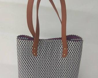 beautiful handmade tote  shoulder bag
