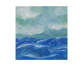 Sea and Sky Print