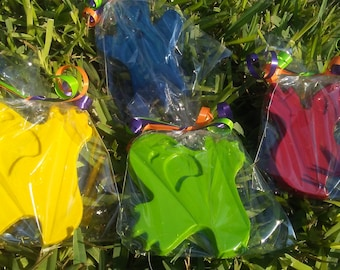 20 ghost crayons, ghost halloween party favors, class halloween party, school party, trick or treat bags