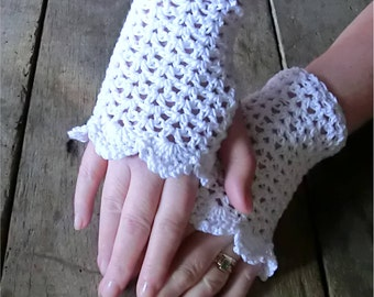 Lace Cuff for Summer. Crochet PATTERN PDF. Instant Downlaod