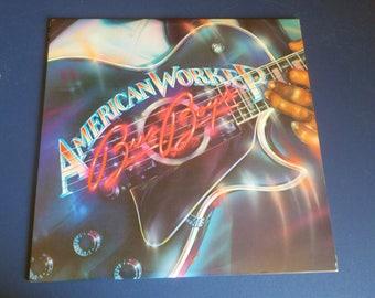 On Sale! The Bus Boys American Worker Vinyl Record LP AL 9569 Arista Records 1982