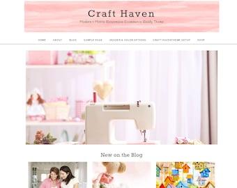 WordPress Theme,  Genesis Theme, Ecommerce Theme, Woocommerce, Craft Haven