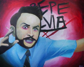 Charlie Kelly / Pepe Silvia prints from Its Always Sunny