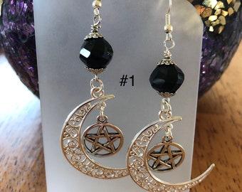 Bewitching Moon Drop Earrings