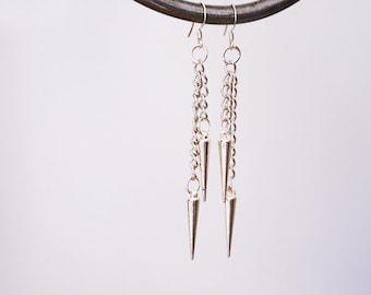 Icicle earrings / Chain earrings